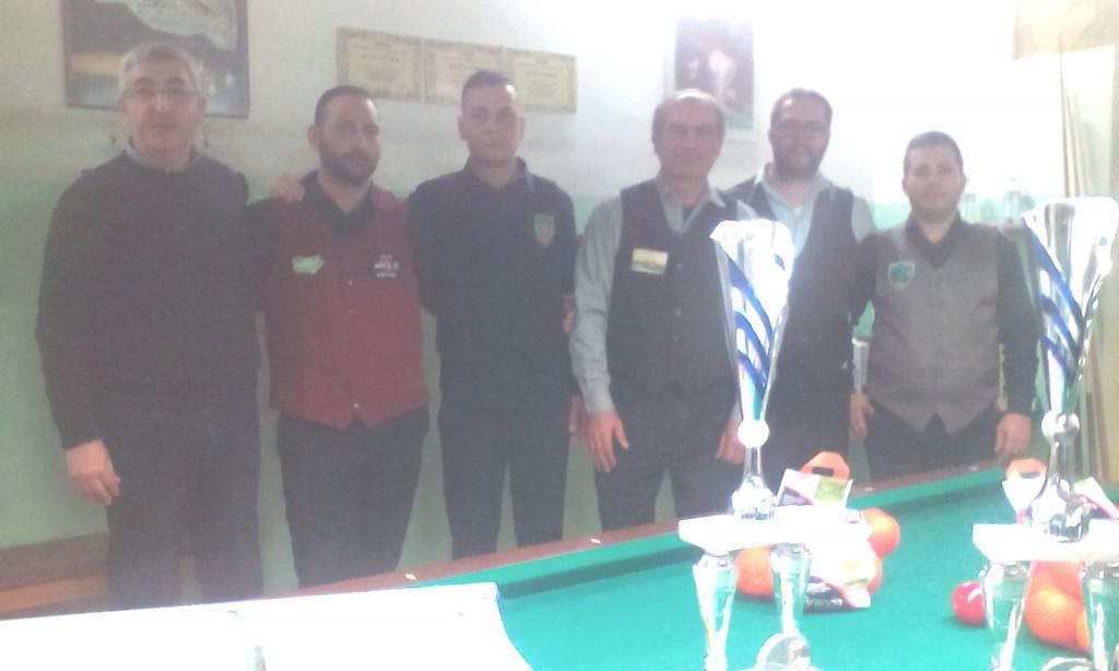 Biliardo I vincitori VI Coppa Sicilia