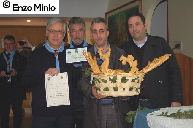 Enzo Termine 1° posto Foto MINIO