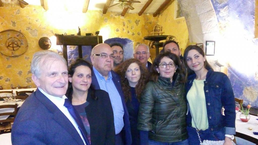 Caltabellotta Delegato Unesco Bondin con amministratori comunali