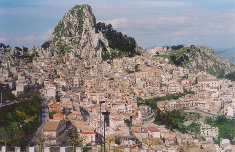 Caltabellotta Panorama