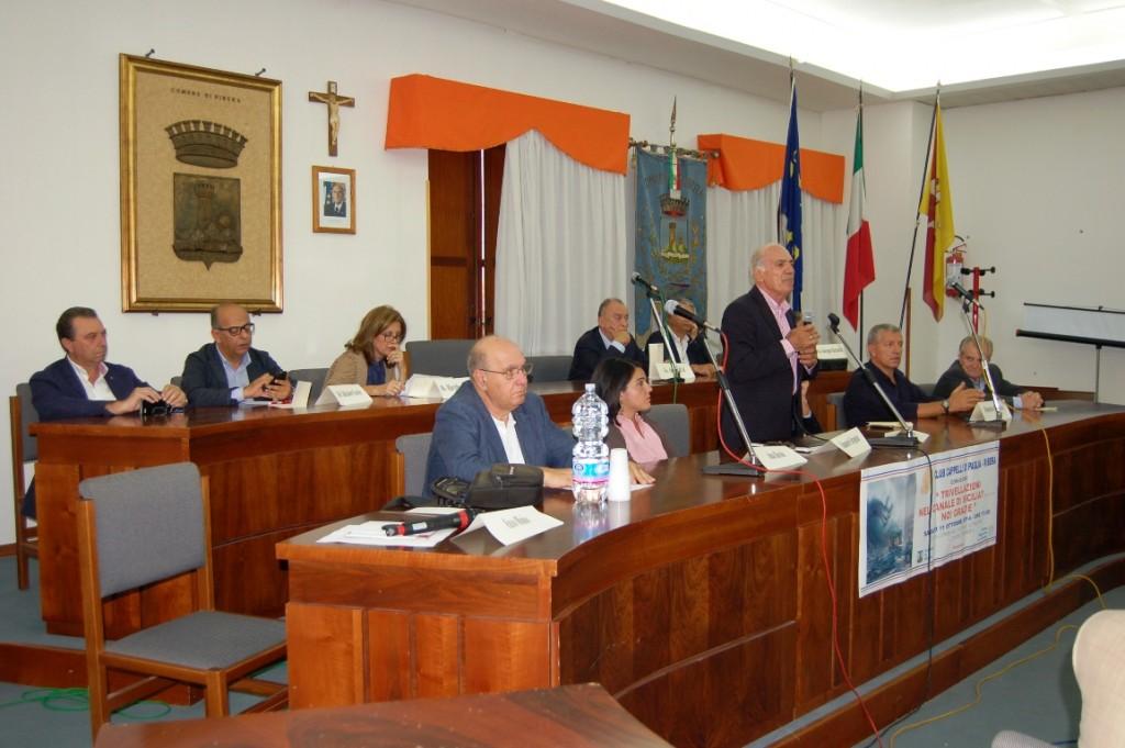 Ribera tavolo presidenza convegno trivellazioni