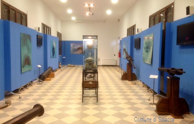 Sciacca museo-del-mare-allestimento