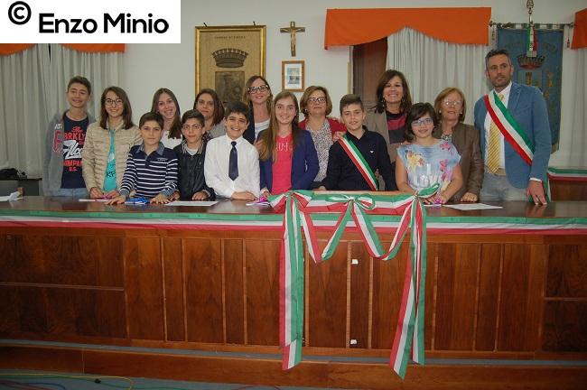 Ribera I consiglieri comunali FOTO MINIO