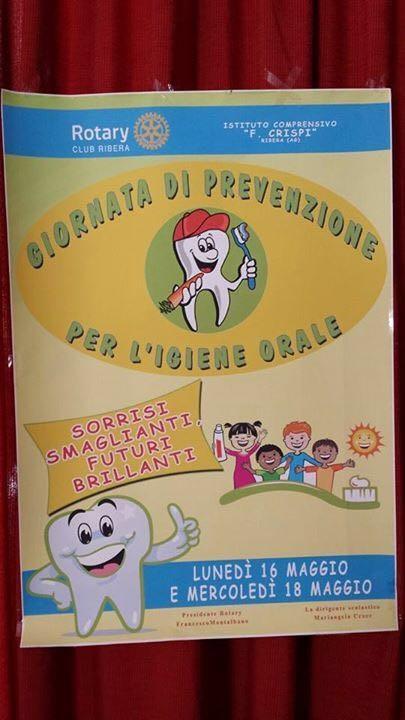 giornata prevenzione igiene orale locandina