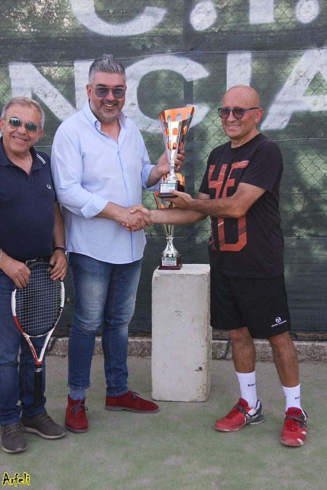 Lo Bue premia Di Benedetto 2° Raffadali tennis