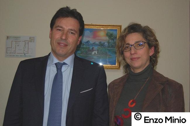 Presidente e direttore del Toscanini FOTO MINIO