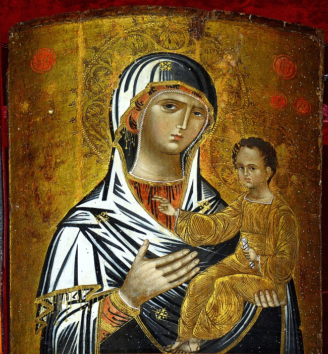 3. Icona  Madonna della Consolazione -Burgio