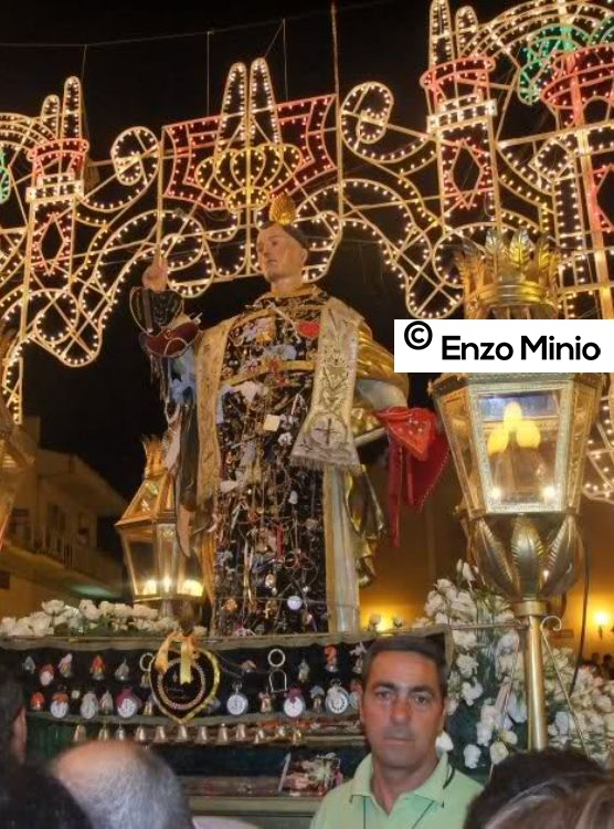 Calamonaci Festa san Vincenzo Ferreri FOTO MINIO