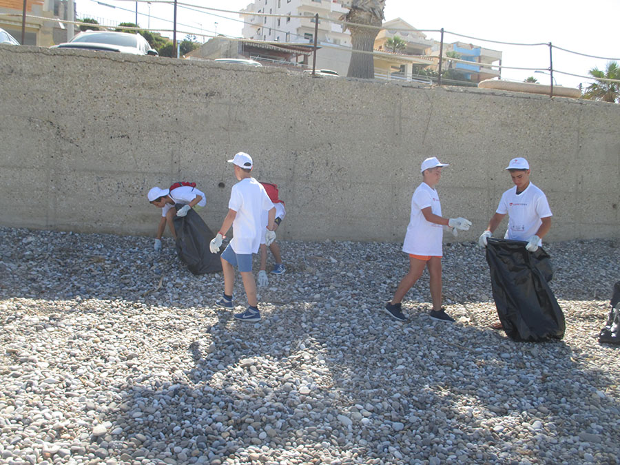 Seccagrande pulizia spiaggia 2