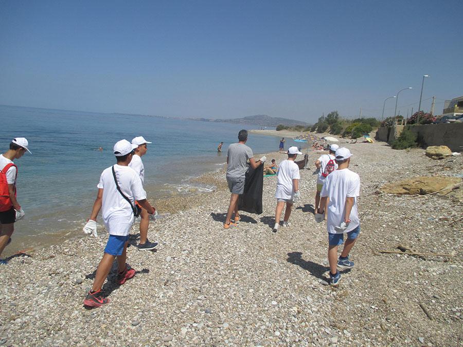 Seccagrande pulizia spiaggia 3