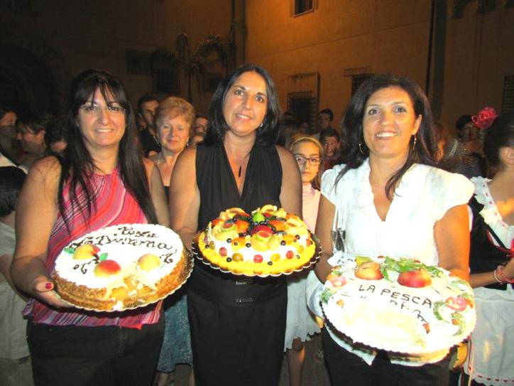 4 Bivona Vincitrici concorso pesca Bivona Maria Cannella, Marilena Madonia, Teresa Levante