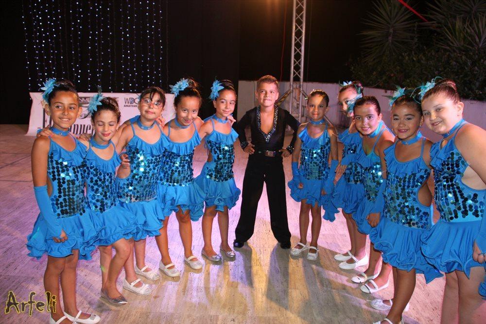 Cianciana saggio danza sportiva di Calogero e Floriana