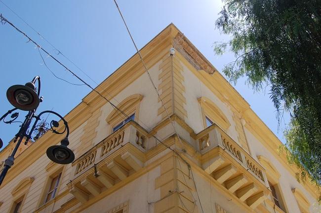 Palazzo comunale cornicioni