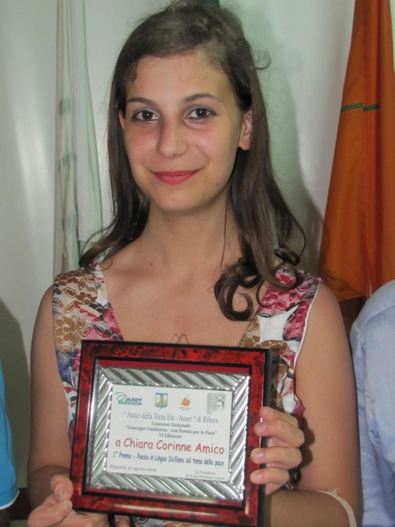 Premio Ganduscio - Chiara Corinne Amico