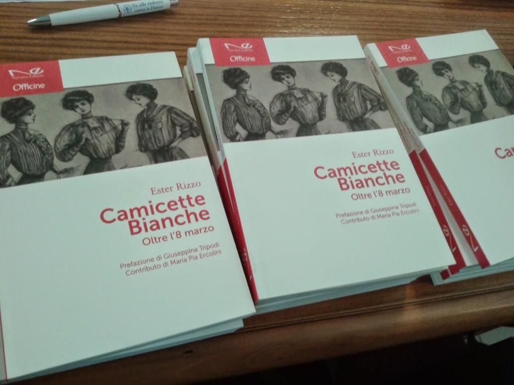 copertina libro Camicette Bianche