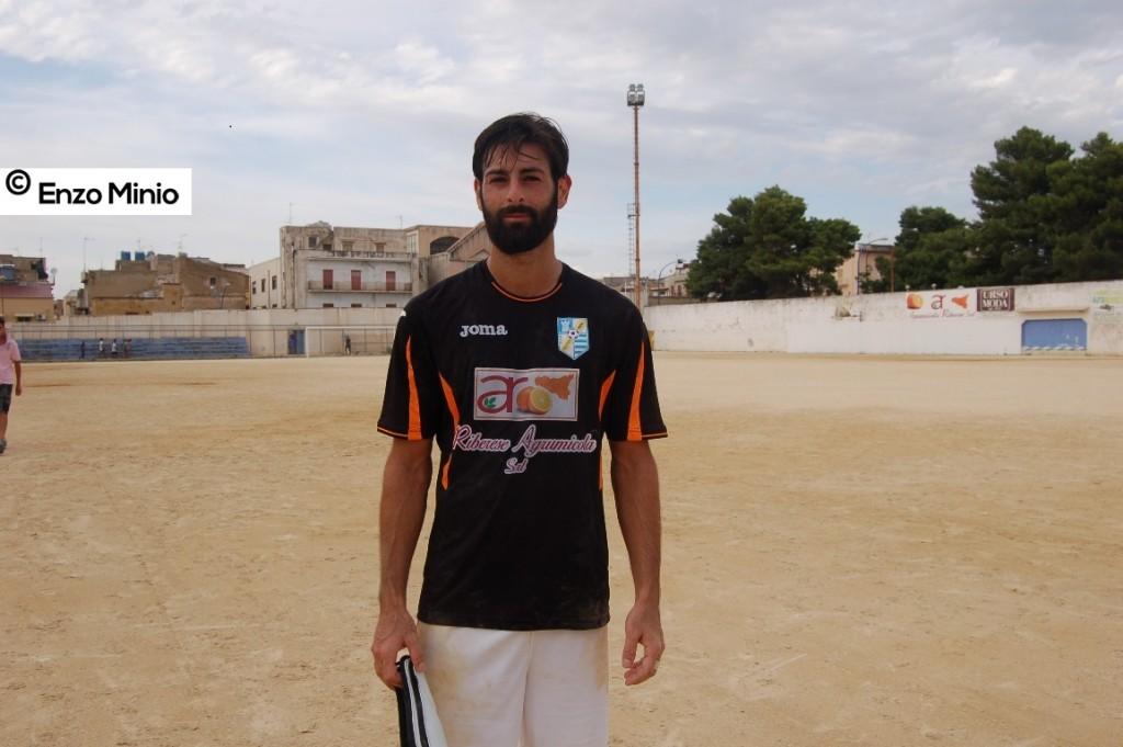 Ribera attaccante Calogero  Carovana FOTO MINIO (1) (2)