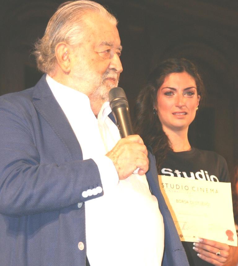 Ylenia Piazza premiata da Pupi Avati