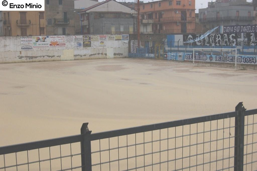 stadio Nino Novara allagato sett. 16  Foto MINIO