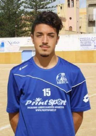 Calcio Ribera Indelicato Paolo gioca a Roma con la Luiss