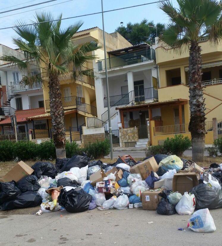 Seccagrande rifiuti per terra 2