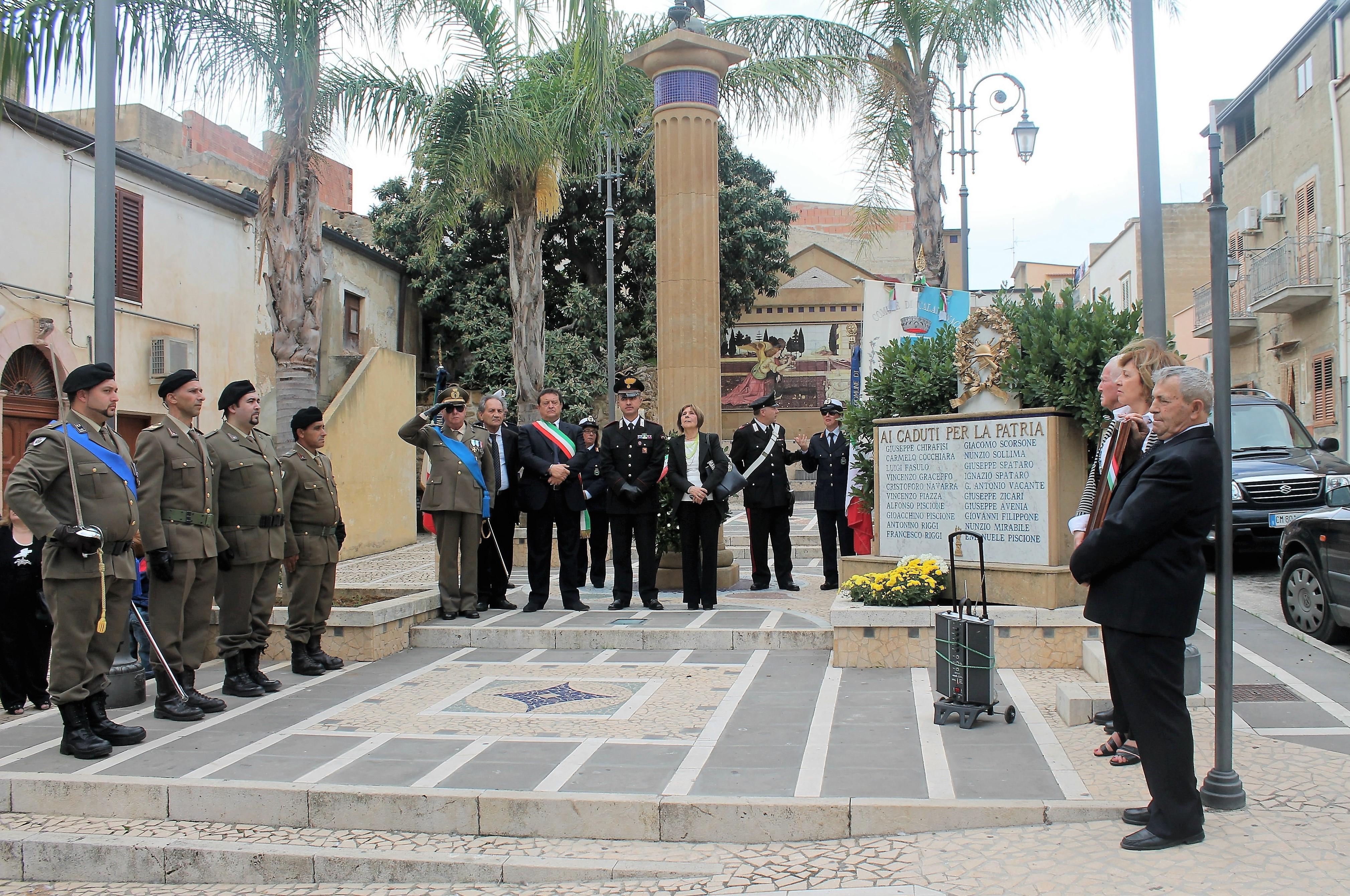Calamonaci Festa Forze Armate 6.11.2016