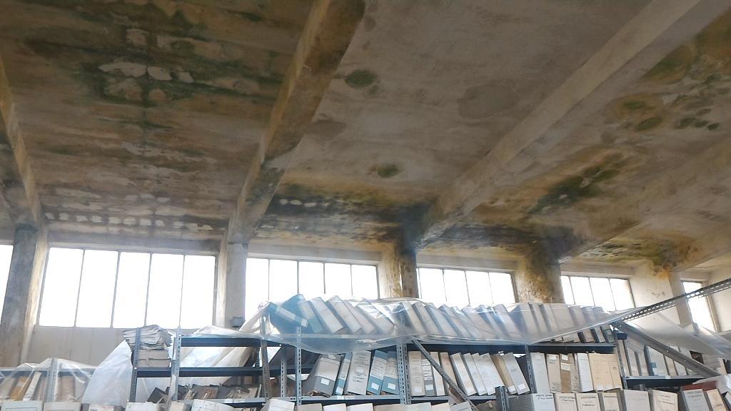 Ribera archivio l'acqua entra dal tetto