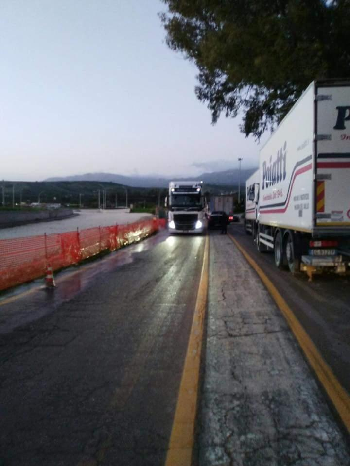ponte Verdura transito riaperto