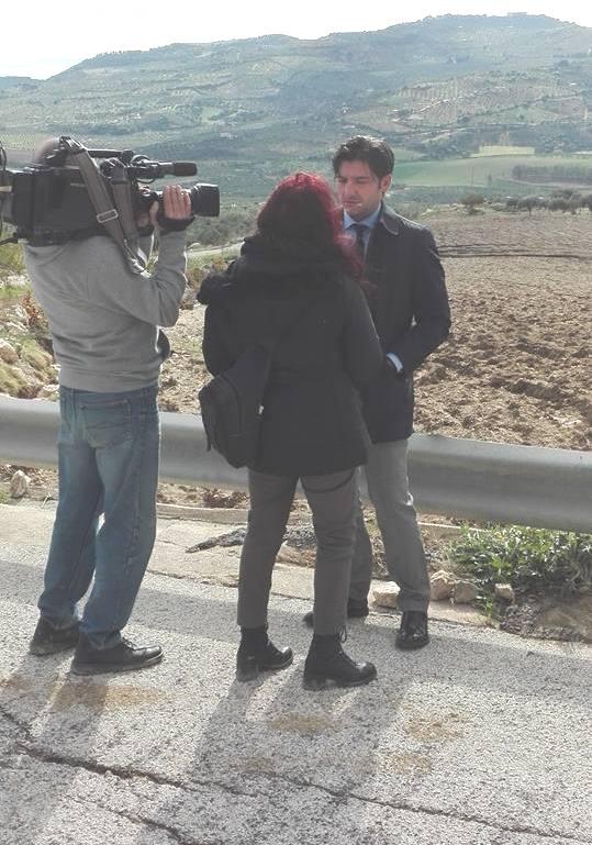 Alluvione Mazzola Tg 1 con  Giuseppe Miccichèjpg