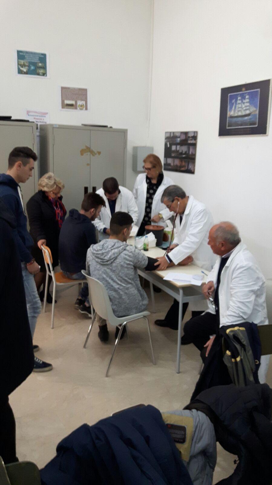 Istituto superiore Crispi screening diabete 2