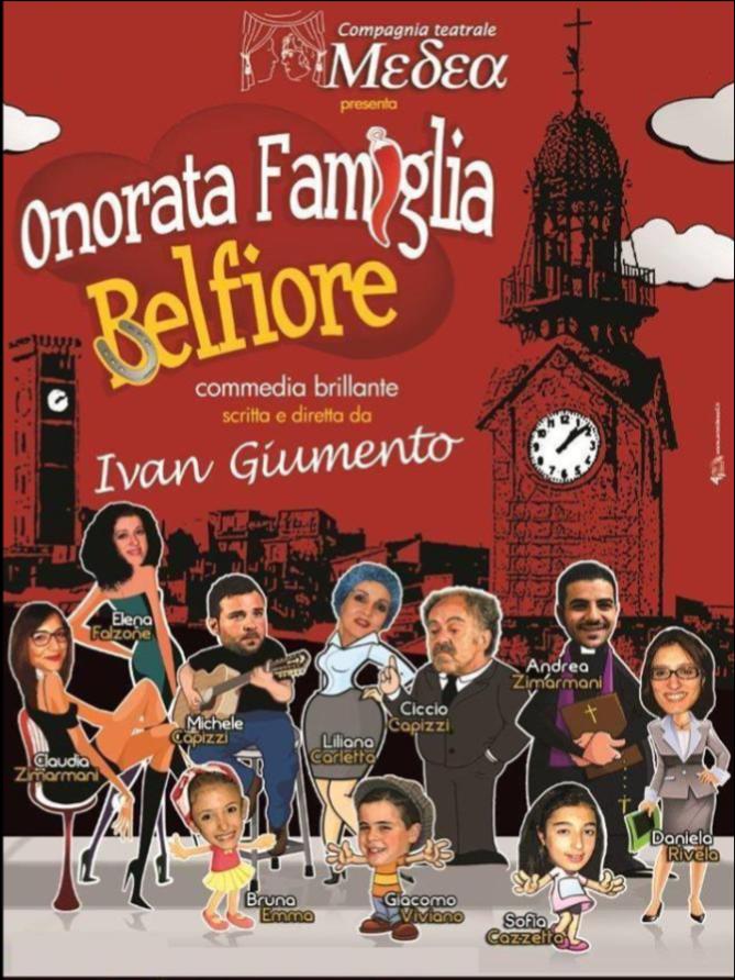 Clamonaci rassegna teatro ONorata famiglia Belfiore