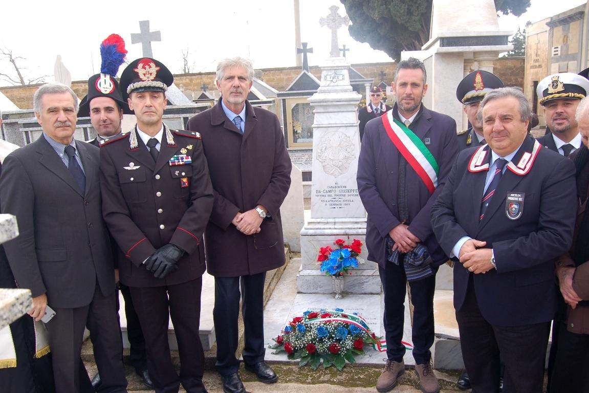 cerimonia 2016 per carabiniere Giuseppe Di Campo