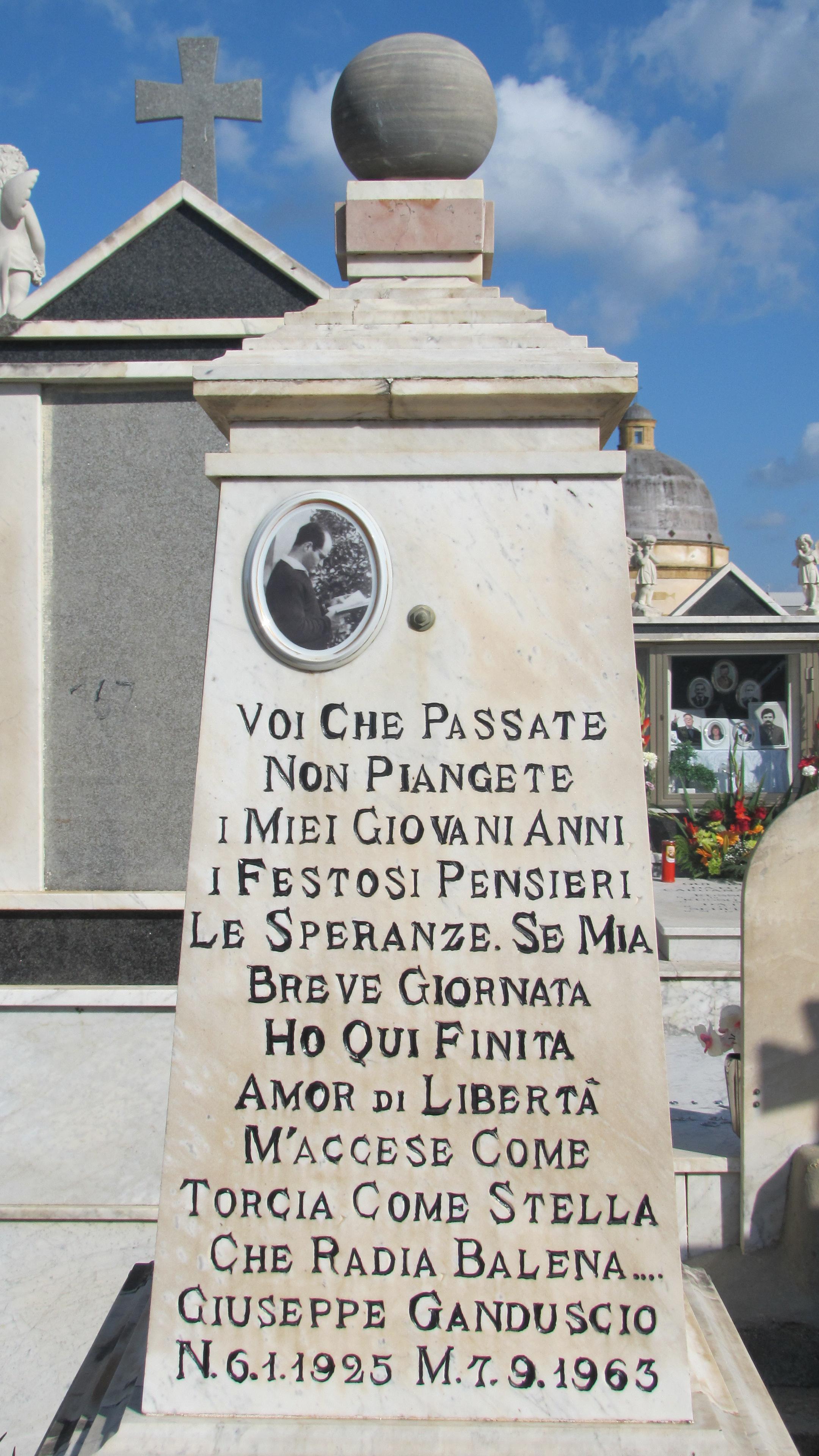 Ganduscio Giuseppe tomba