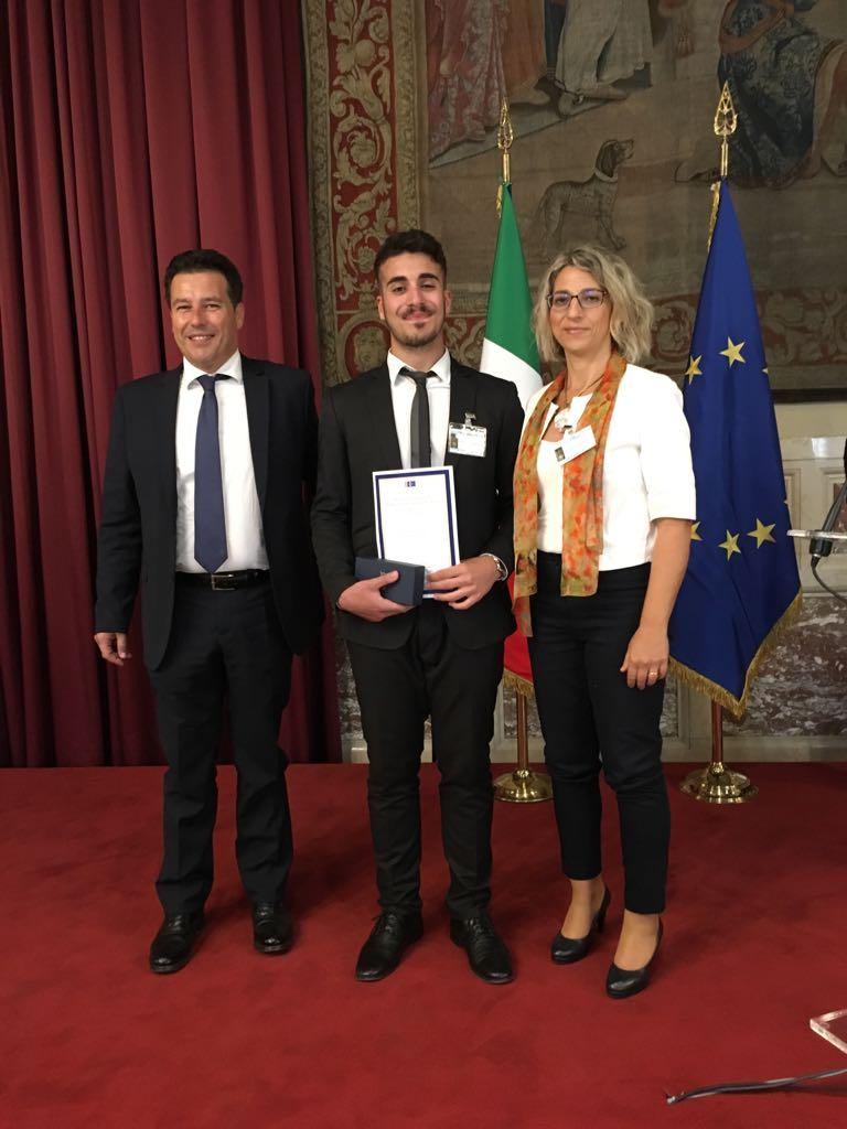 Ribera giuseppe francolino del toscanini premiato alla for Ieri alla camera dei deputati